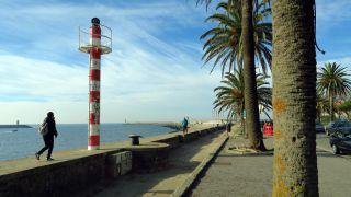 Llegando a la desembocadura del Douro