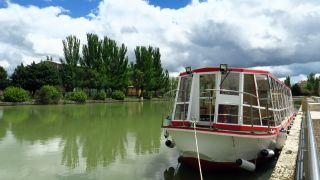 Embarcadero del Canal de Castilla en Medina de Rioseco