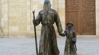 Escultura en Medina de Rioseco