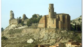 Castillo e iglesia de Santa Maria, Castelló de Farfanya