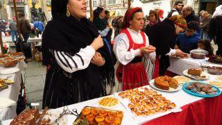 Feria gastronómica en Viana do Castelo