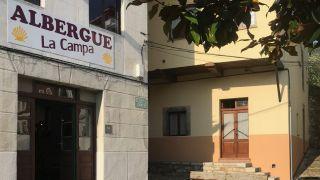 Albergue La Campa, Salas