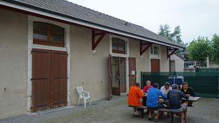 Halte Saint-Jacques - Camping municipal, Morlaàs