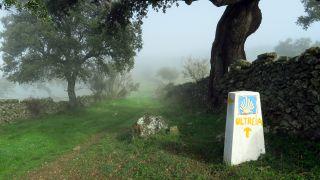Tramo entre Segura de León y Valencia del Ventoso, en la provincia de Badajoz