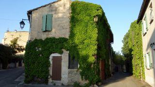 Detalle de un edificio del casco antiguo, Gallargues-le-Montueux