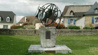 Monumento en la iglesia de Goès