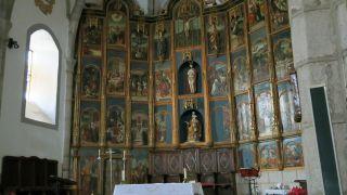 Retablo de la iglesia de Nuestra Señora del Camino, Medina de las Torres