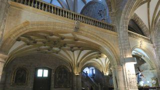 Interior de la iglesia de Colmenar Viejo