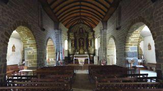Interior de la iglesia de Saint-Michel, Mifaget