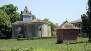 Capilla del château, L'Isle-Arné