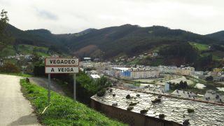 Llegando a Vegadeo-A Veiga
