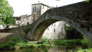 Puente medieval sobre La Soulondre, Lodève