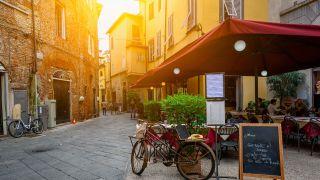 Calle del centro de Lucca