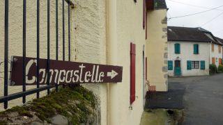Señal a Compostelle, Lurbe-Saint-Christau