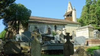 Iglesia de Lussan