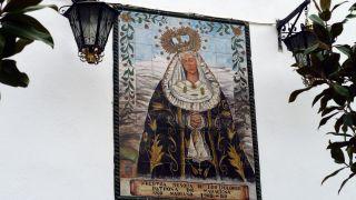 Mural de azulejos de la virgen de los Dolores, Maracena