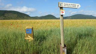 Cartel en la zona de Mianos