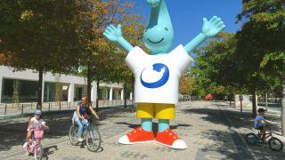 Mascota de la Expo Internacional de 1998 de Lisboa, en el Parque das Nações