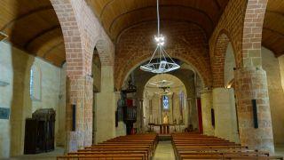 Nave de la iglesia de Saint-Martin, Maubourguet