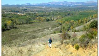 De camino a Cabanillas por el valle del río Bernesga