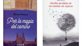 """Portadas de """"Por la magia del Camino"""" y """"Huellas perdidas de un camino sin regreso"""""""
