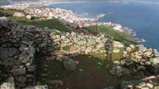 Vista desde la ermita de San Guillerme de Fisterra