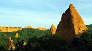 Las Médulas, antigua explotación minera declarada Patrimonio de la Humanidad
