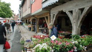 Mercado en Mirepoix