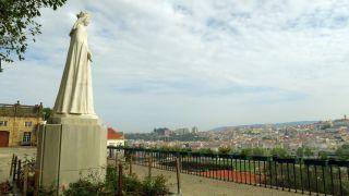 Mirador en el Alto de Santa Clara en Coimbra