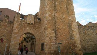 Puerta de entrada al casco antiguo de Montblanc