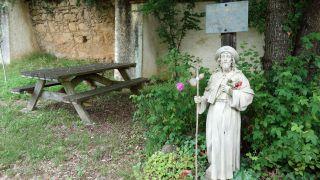 Estatua de Saint-Jacques, Montesquiou