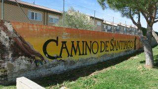 Mural a la salida de Colmenar Viejo
