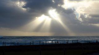 Nubes de tarde, Porto Mougás