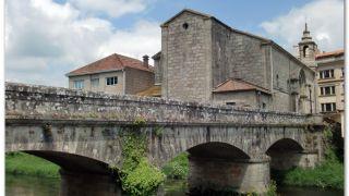 Puente sobre el Sar e iglesia de Santiago, Padrón