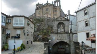 Fuente e iglesia del Carmen, Padrón