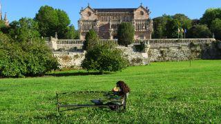 Jardines del Palacio de Sobrellano, Comillas