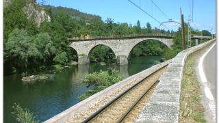 Puente sobre el río Nalón, Peñaflor