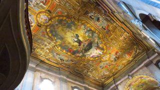 Pinturas de la nave de la catedral de Santarém