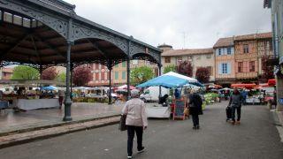 Place Maréchal Leclerc, Mirepoix