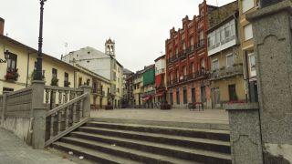 Plaza Mayor de O Barco de Valdeorras