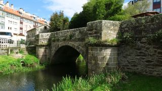 Ponte das Cascas, a la salida de Betanzos