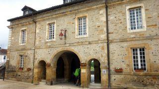 Interior de la puerta de Saint-Antoine, Navarrenx