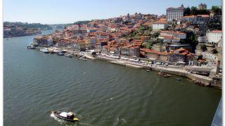 Río Duero y barrio da Ribeira, Porto