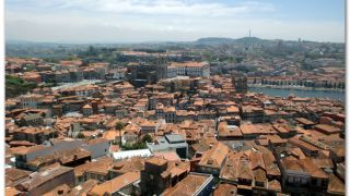 Vista de Porto desde la torre dos Clérigos