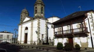 Praza de Santa María en Vilalba