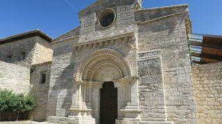 Puerta románica de la iglesia de Wamba