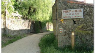 Camino en el Puerto de Béjar
