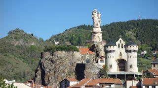 Rocher de Saint-Joseph de Bon-Espoir, cerca de Le Puy