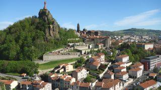 Vista de Le Puy desde Saint-Michel-d'Aiguilhe