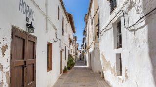 Calle del casco antiguo de Requena
